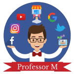 Professor M Logotipo