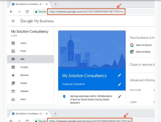 Como restabelecer o teu perfil após uma suspensão do Google My Business 2